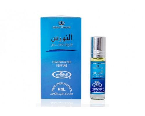 Духи Al Nourus голубой Al-Rehab 6мл