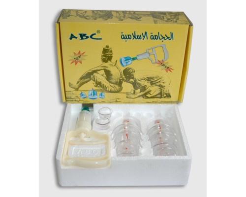 Вакуумные банки (хиджама) ABC  12 банок