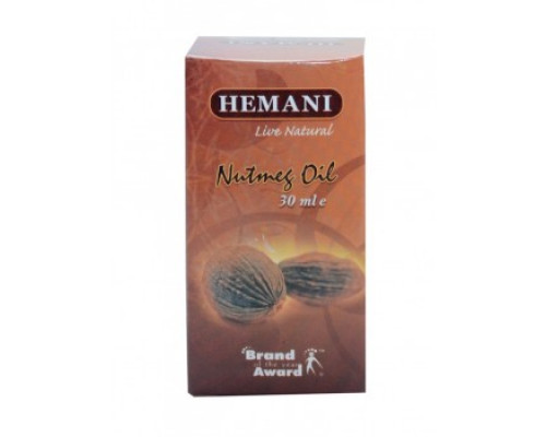 Масло Мускатного ореха Nutmeg Oil (Hemani 30мл)