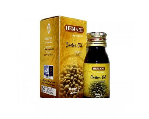 Масло Касторовое Castor Oil (Hemani 30мл)