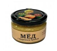 Крем - мед(башкирский) с кедровым орехом 300гр