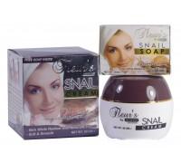 Омолаживающий Крем для лица SNAIL hemani с экстрактом улитки + мыло в подарок!