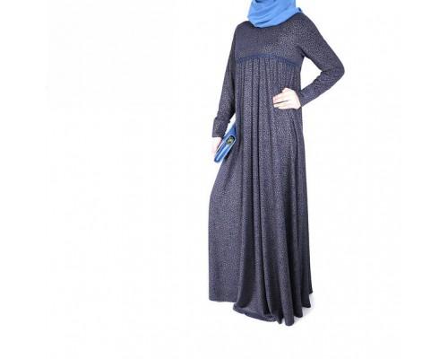 """Платье """"Ляйсан"""" нарядное трикотаж с рисунком"""