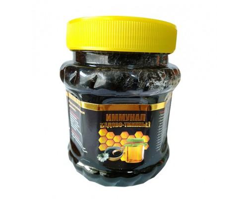 """Смесь """"Иммунал""""(мед, черный тмин, семена кунжута) 400гр"""
