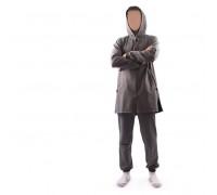 """Спортивный костюм """"Ильяс"""" длинный из турецкого трикотажа светло-серый"""