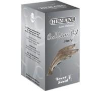Масло жир печени Трески - Cod Liver Oil (Hemani) 30мл