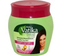 Маска для волос Vatika - Egg, Honey, Castor, Marrow (Яйцо, Мёд, Кастор, Кабачок) 500гр