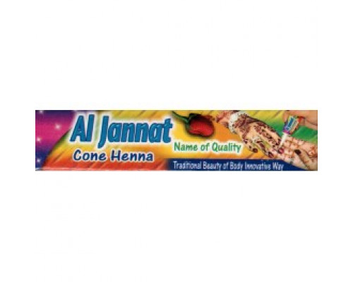 Хна для рисования Al-Jannat - Коричневая (пакистан) в тюбике 35гр