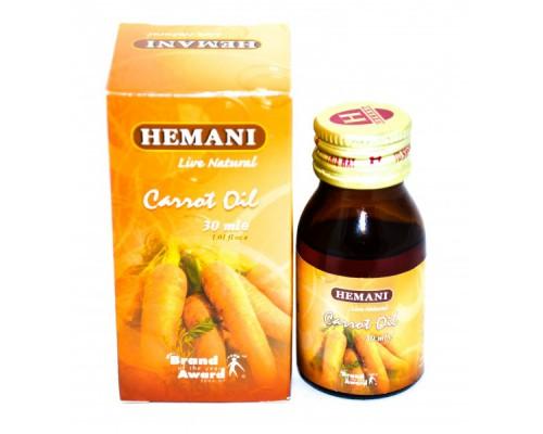 Масло Моркови - Carrot Oil (Hemani) 30мл
