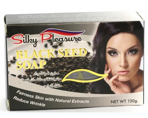 Мыло Silky Pleasure - Black Seed Soap (C тмином) (NEW) 130гр