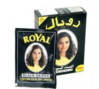 Хна Royal - Black (черный) (в упаковке 7шт по 10гр) Индия