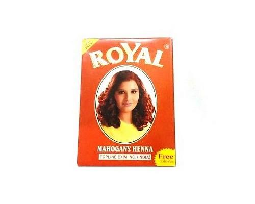Хна Royal - Mahogany (Махагон) (в упаковке 7шт по 10гр) Индия
