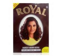 Хна Royal - Darkest Brown (Темно-коричневый) (в упаковке 7шт по 10гр) Индия