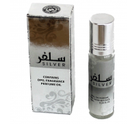 Арабские масляные духи  Al Zaafaran Silver 10 МЛ Унисекс