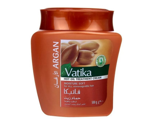 Маска для волос Vatika - Argan (с арганой) 500гр